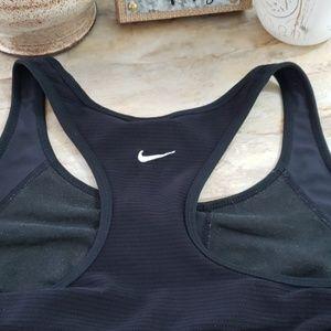 Nike Womans Black Racer Back Dri Fit Tank